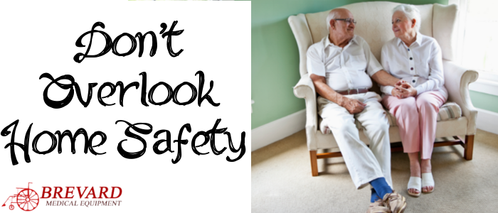 As we get older and our mobility declines, some extra safety precautions may be necessary in the home.